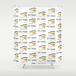 Eye Tunes Shower Curtain