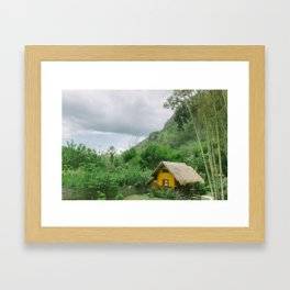 THAILAND BUNGALOW Framed Art Print