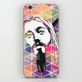 Jesus Likes It Big and Black iPhone Skin
