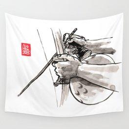 "Capoeira 482 ""Berimbau"" Wall Tapestry"