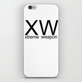 XW Original  iPhone Skin