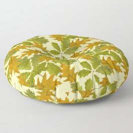 Leaves Camouflage Pattern Floor Pillow