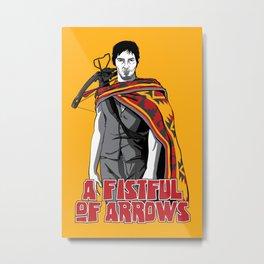 A Fistful of Arrows Metal Print