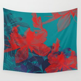 HIBISCUS II Wall Tapestry