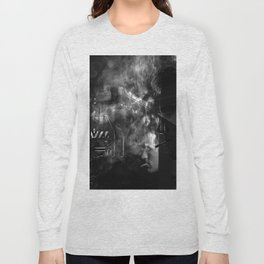 Smokers and train Long Sleeve T-shirt