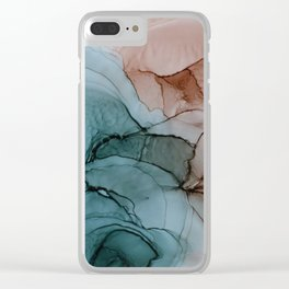 Earthy Mood Clear iPhone Case