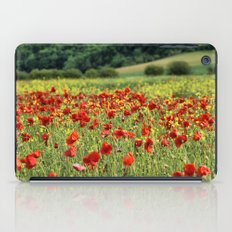 Poppies, Poppies, Poppies iPad Case