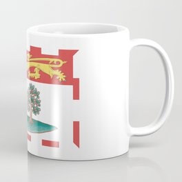 flag of prince edward island 2 -pei,islander,Charlottetown Coffee Mug