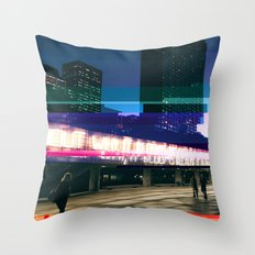 Project L0̷SS | Nathan Phillips Square, Toronto Throw Pillow