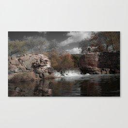 Mission Gorge Dam Canvas Print