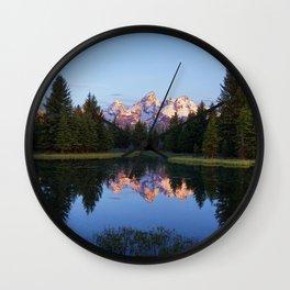 Reflected Serenity Wall Clock