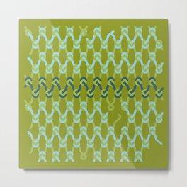knitknots Metal Print