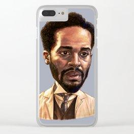 Dr. Algernon Edwards Clear iPhone Case