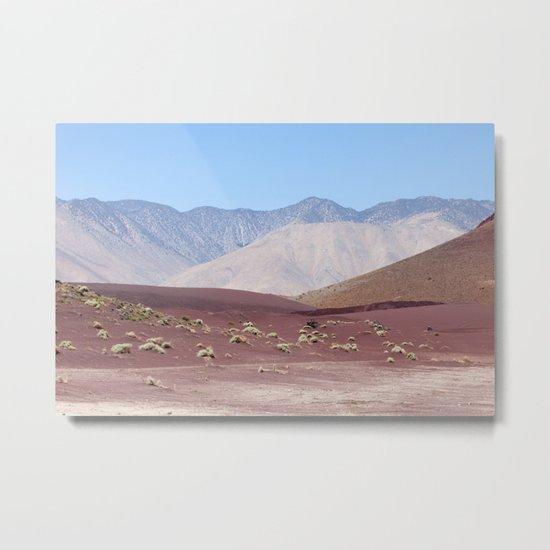 Layers of Earth II (Fossil Falls, California) Metal Print