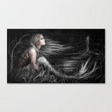 Mermaid at Midnight Canvas Print