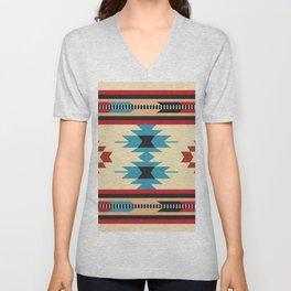 American Native Pattern No. 37 Unisex V-Neck