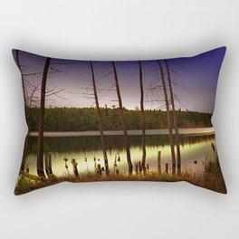Echo In The Night Rectangular Pillow