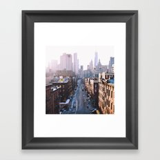 Chinatown, NYC Framed Art Print