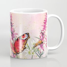 Wild meadow butterflies Coffee Mug