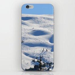 Back-Country Skiing - II iPhone Skin