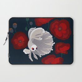 Bettas and Poppies Laptop Sleeve
