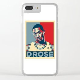 Derrick Rose Clear iPhone Case