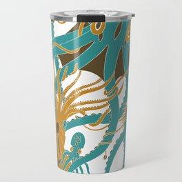 Battle of the Cephalopods Travel Mug