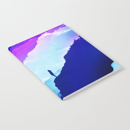Violet dream of Isolation Notebook