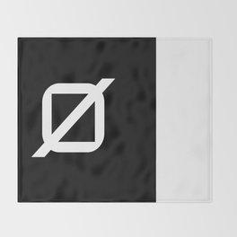 Agender Pride Flag Throw Blanket