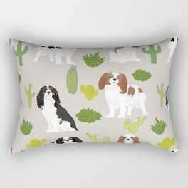 Cavalier King Charles Spaniel must have gift accessories for dog breed owner king charles dog Rectangular Pillow