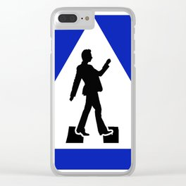 Try walking across the streetV2 Clear iPhone Case