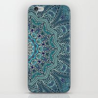 lace iPhone & iPod Skins featuring LACE by Monika Strigel