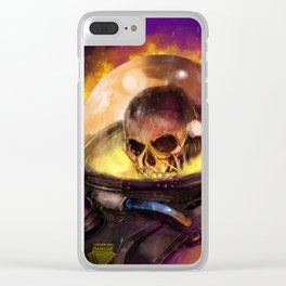 Astro Skull Clear iPhone Case