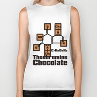 chocolate Biker Tanks featuring Chocolate by AURA-HYSTERICA