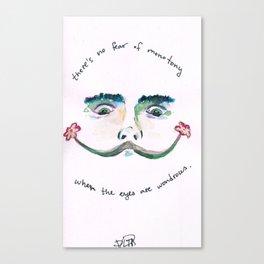 Wonder Eyes Canvas Print