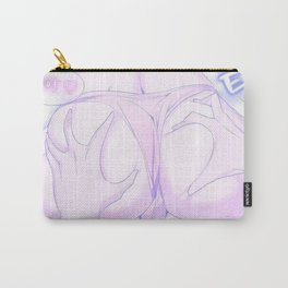 Sexy anime aesthetic - what a bummer Carry-All Pouch