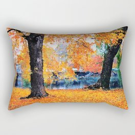 Boston, Panorama Rectangular Pillow