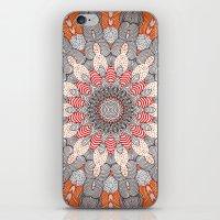 mandala iPhone & iPod Skins featuring manDala by Monika Strigel