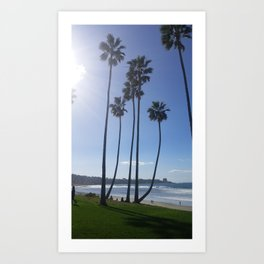 Palms in Paradise Art Print