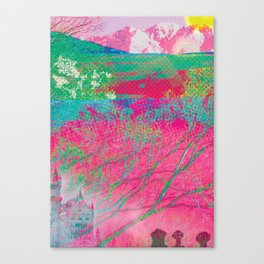 Ancients Candyfloss Forest Canvas Print
