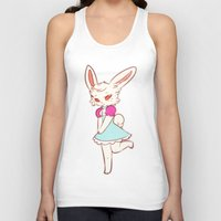 ruby Tank Tops featuring Ruby by Chez_Art
