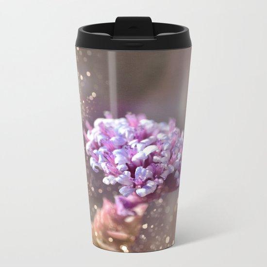 Pastel vibes floral IV Metal Travel Mug