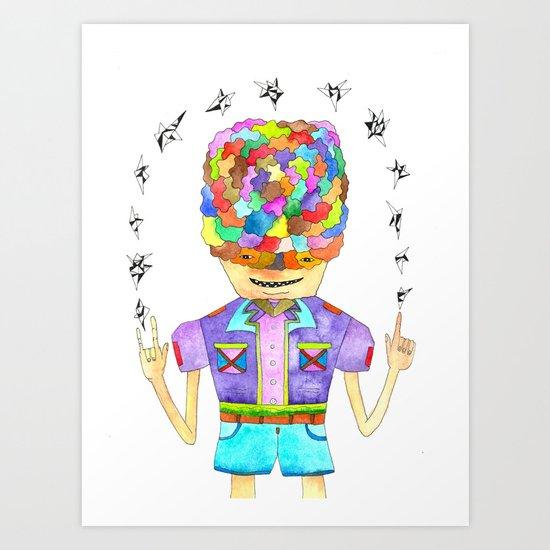 Young Magic Art Print