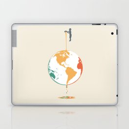 Fill your world with colors Laptop & iPad Skin