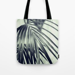 Green Palm Leaf #1 #decor #art #society6 Tote Bag