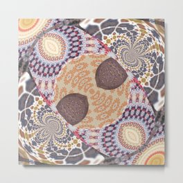 Some Other Mandala 600 Series Mixery Metal Print