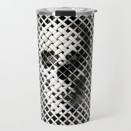 Wicker Skull Travel Mug