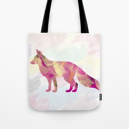 Abstract Fox Tote Bag