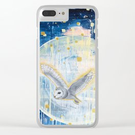 The First Full Moon Clear iPhone Case
