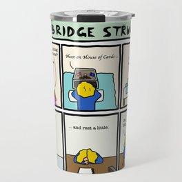 Cambridge struggles: Procrastination Travel Mug